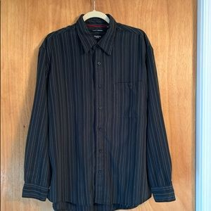 NWOT Haggar button down size Large